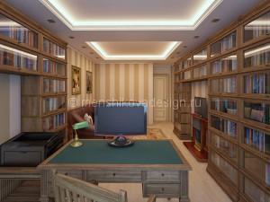 kabinet_s_bibliotekoy