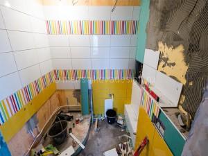 Пандус под ванну, инсталляция для унитаза.